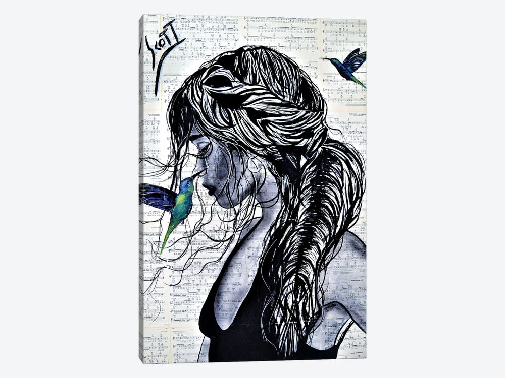 I Am Always There by Brandon Scott 1-piece Canvas Art Print