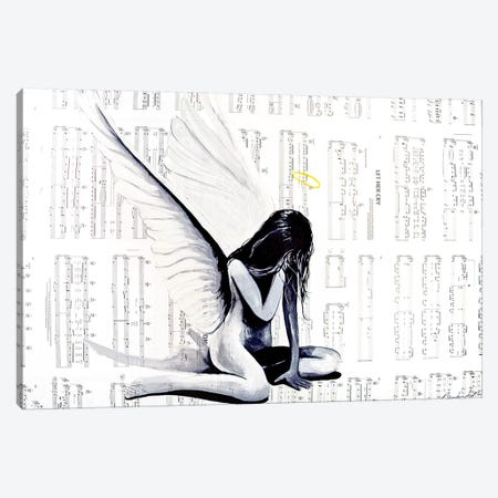 Let Her Cry II Canvas Print #BST14} by Brandon Scott Canvas Art