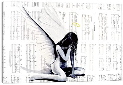 Let Her Cry II Canvas Art Print