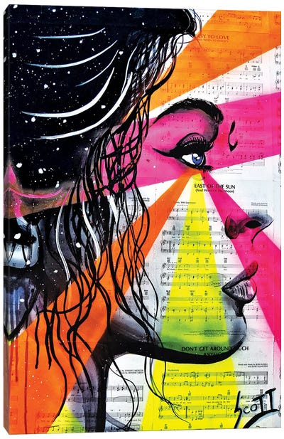 The Director Canvas Art Print