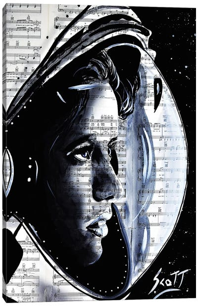 The First Mother In Space Canvas Art Print
