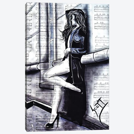 The Queen Of Surburbia Canvas Print #BST34} by Brandon Scott Canvas Wall Art