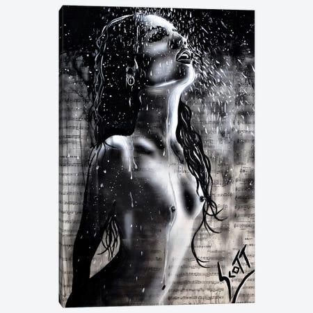 The Rain Canvas Print #BST35} by Brandon Scott Canvas Wall Art