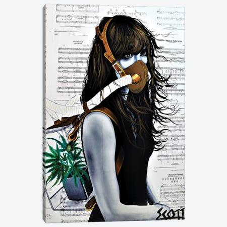 The Tragedy Of Perception Canvas Print #BST37} by Brandon Scott Canvas Wall Art