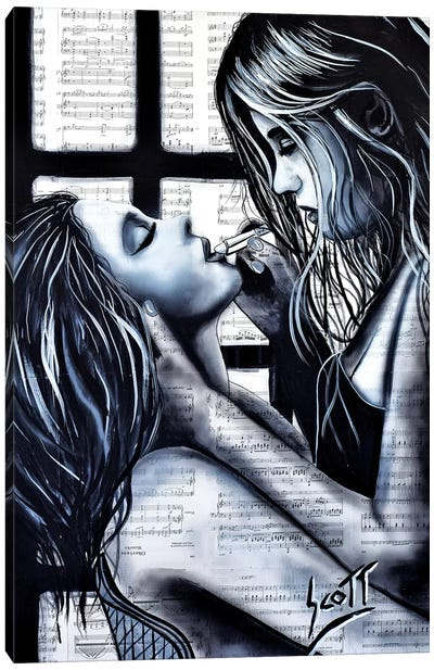 Unconditional Canvas Art Print