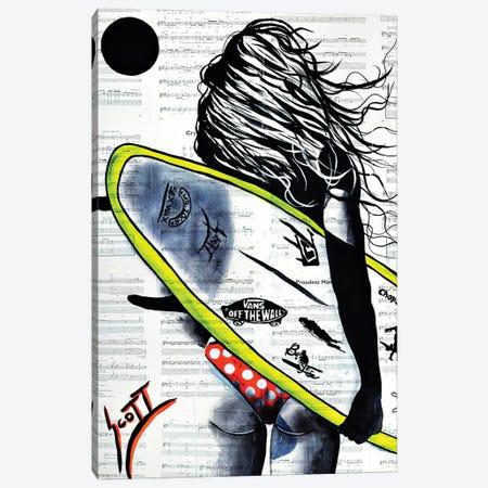 Beach Calling Canvas Print #BST49} by Brandon Scott Canvas Artwork