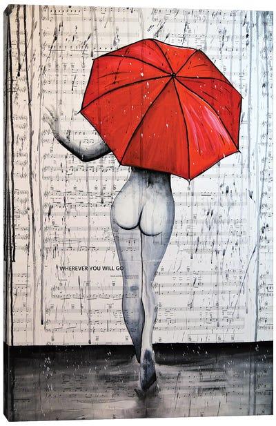 Rain Queen Canvas Art Print