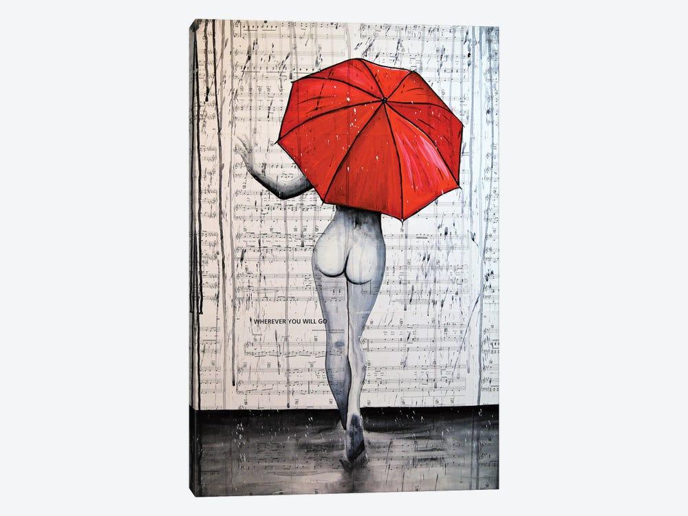 Rain Queen by Brandon Scott 1-piece Canvas Art
