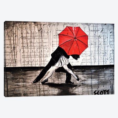 The Dance Canvas Print #BST61} by Brandon Scott Canvas Art