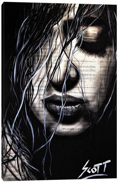 The Dark Canvas Art Print