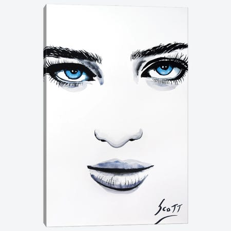 Her Canvas Print #BST70} by Brandon Scott Canvas Art Print