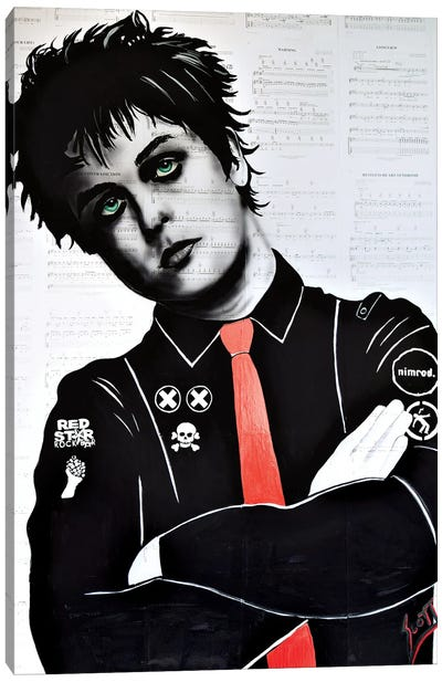 Billie Joe Armstrong Canvas Art Print