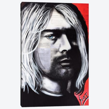 Kurt Canvas Print #BST78} by Brandon Scott Canvas Art Print