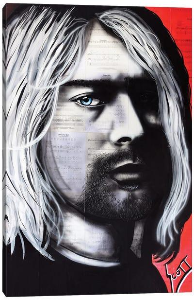 Kurt Canvas Art Print