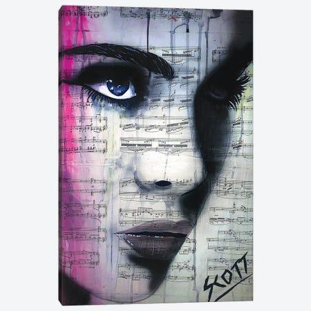 Pretty Reckless Canvas Print #BST87} by Brandon Scott Art Print