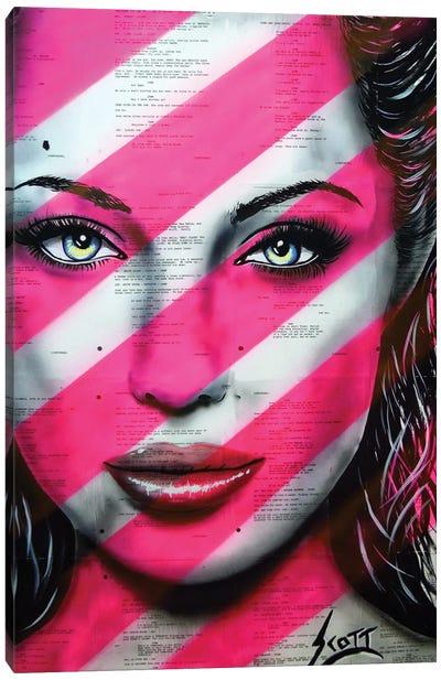 Brave Canvas Art Print