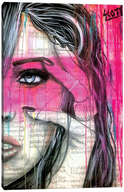 Flash Canvas Art Print