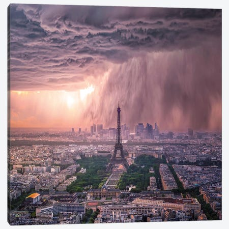 Tears Of Paris Canvas Print #BSV10} by Brent Shavnore Canvas Print