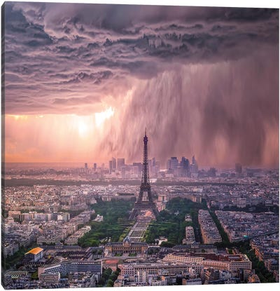Tears Of Paris Canvas Art Print