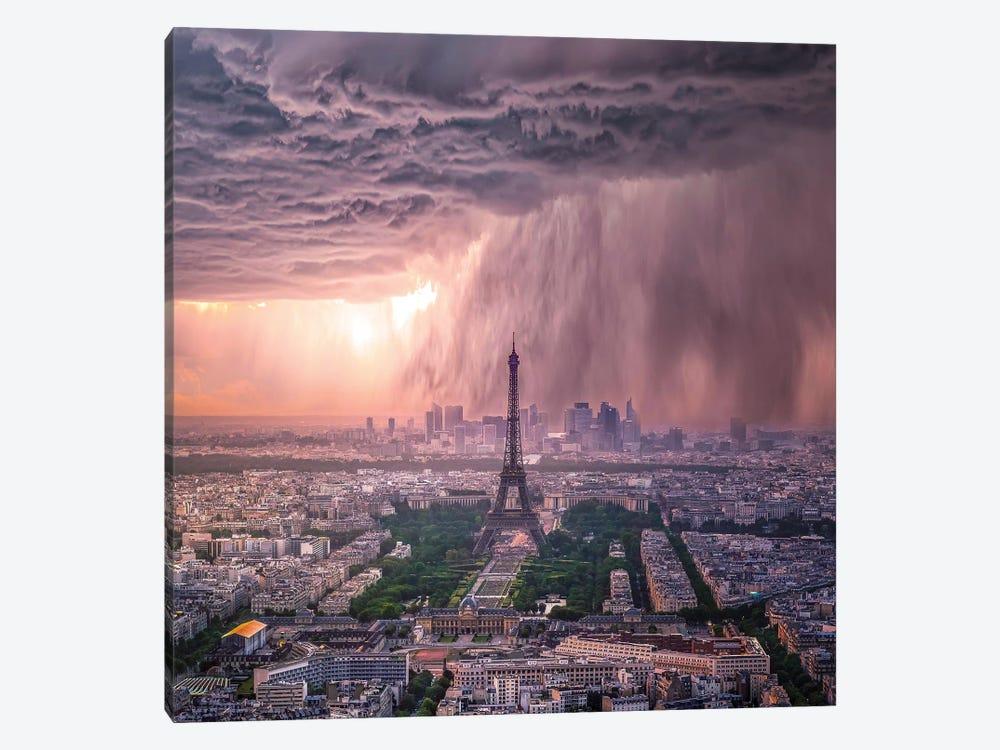 Tears Of Paris by Brent Shavnore 1-piece Canvas Artwork