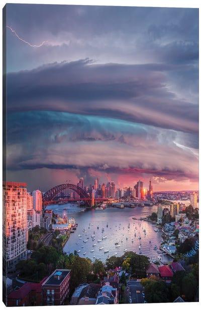 Sydney Vortex Canvas Art Print