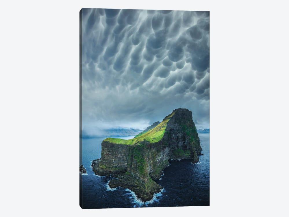 Foggy Faroe Islands by Brent Shavnore 1-piece Art Print