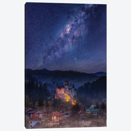 Keep Dreaming Transylvania Canvas Print #BSV18} by Brent Shavnore Art Print