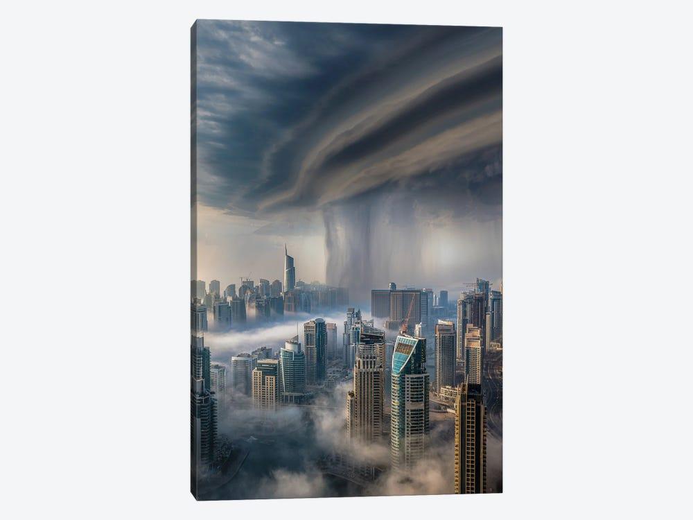 Dubai Downpour by Brent Shavnore 1-piece Art Print