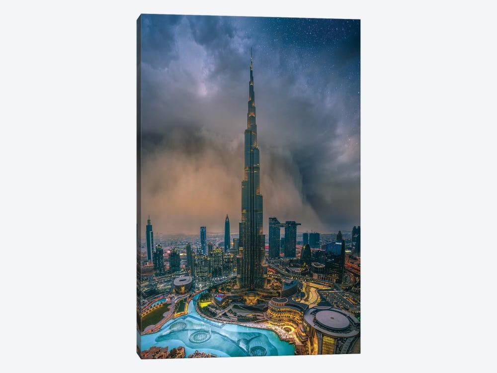 Dubai Sandstorm by Brent Shavnore 1-piece Canvas Print