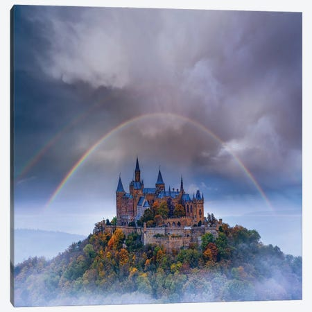 Hohenzollern Bow Canvas Print #BSV23} by Brent Shavnore Canvas Artwork