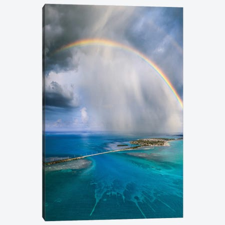 The Keys To Florida Canvas Print #BSV26} by Brent Shavnore Canvas Art Print