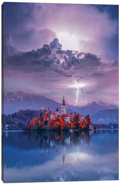 Lake Bled Perfection Canvas Art Print