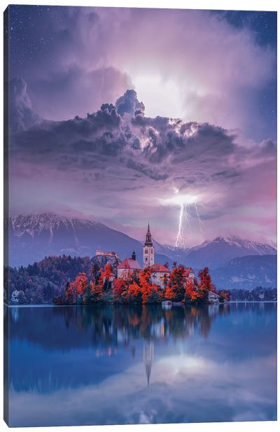 Lake Bled Perfection Canvas Art Print