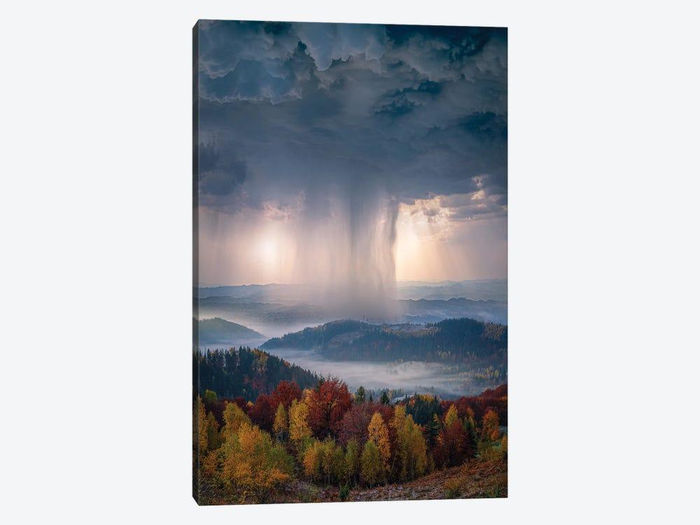Autumn Downpour by Brent Shavnore 1-piece Canvas Print