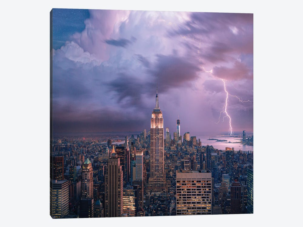 New York City Dreaming by Brent Shavnore 1-piece Canvas Wall Art