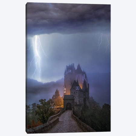 Castle Locked Canvas Print #BSV31} by Brent Shavnore Canvas Print