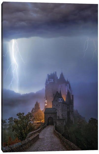 Castle Locked Canvas Art Print