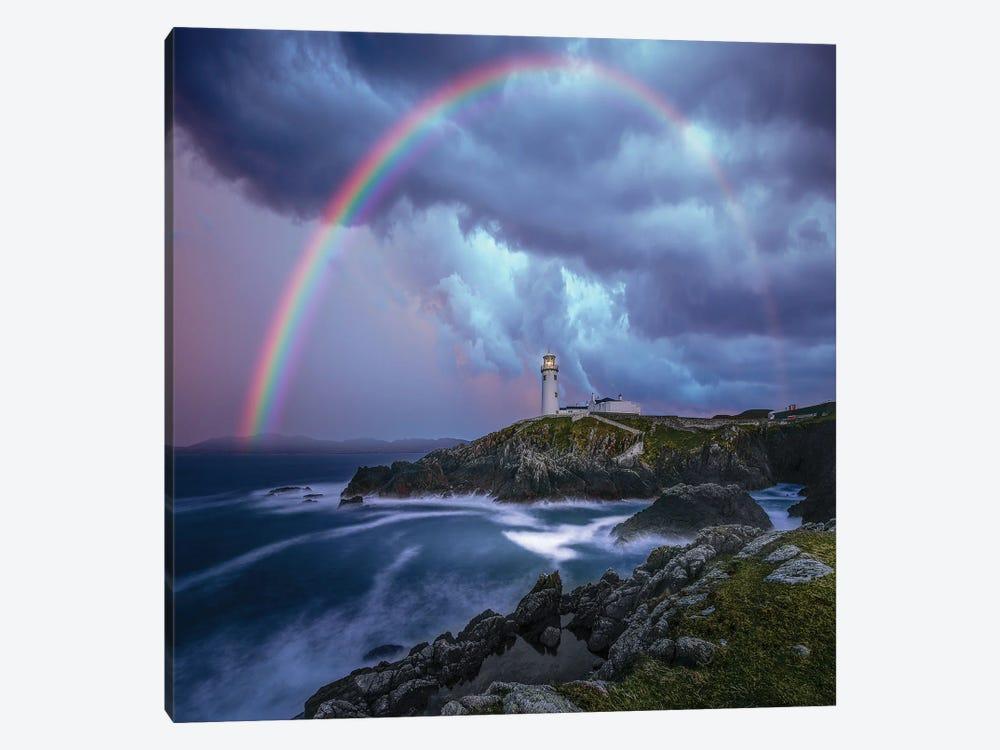 Rainbow Over Ireland by Brent Shavnore 1-piece Canvas Artwork
