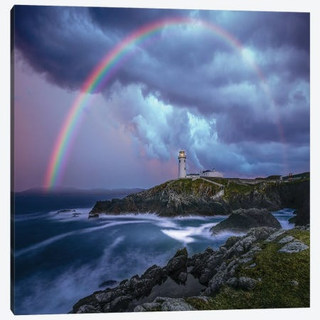 Rainbow Over Ireland Canvas Print #BSV32} by Brent Shavnore Canvas Art Print