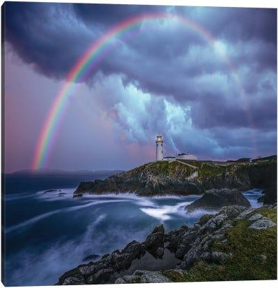 Rainbow Over Ireland Canvas Art Print