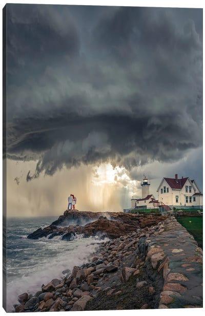 Mass Lighthouse Canvas Art Print