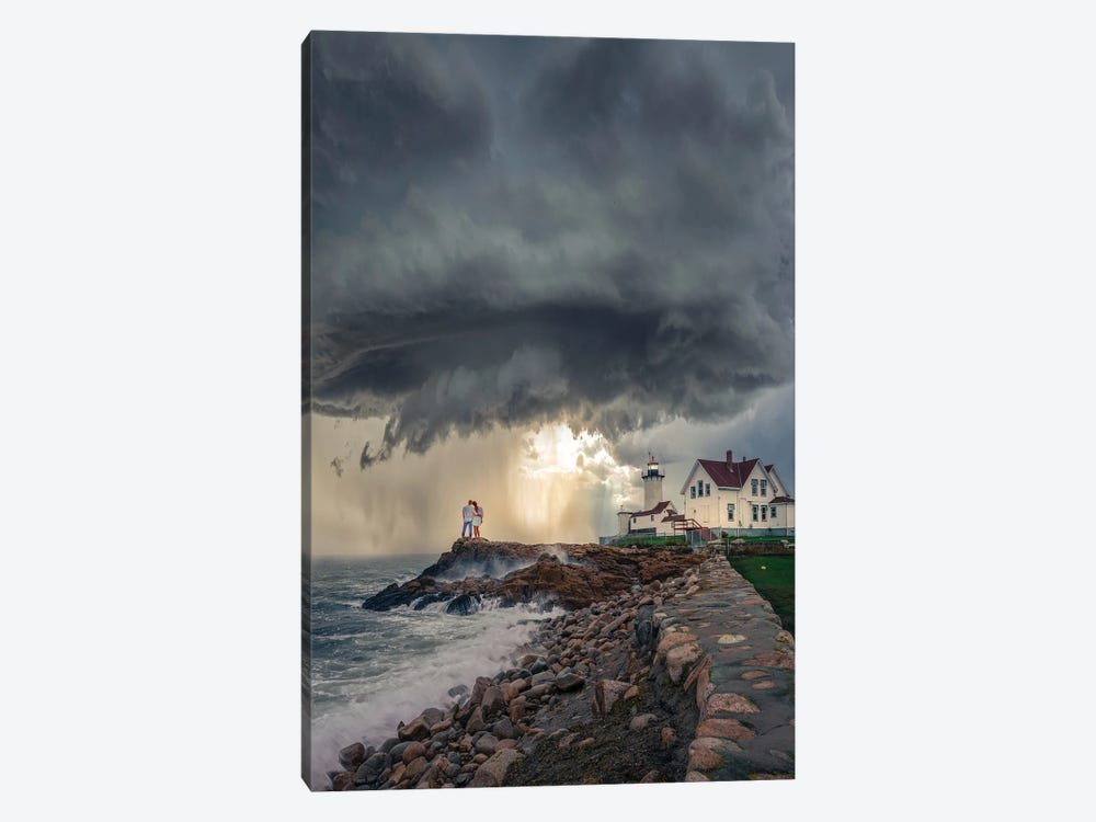Mass Lighthouse by Brent Shavnore 1-piece Canvas Art Print