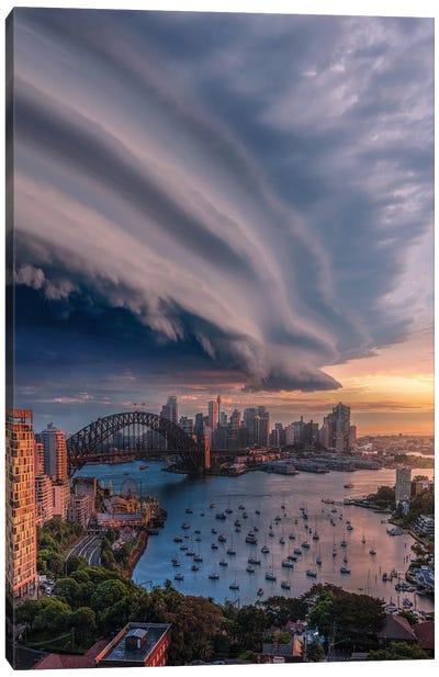 Sydney Shelf Canvas Art Print