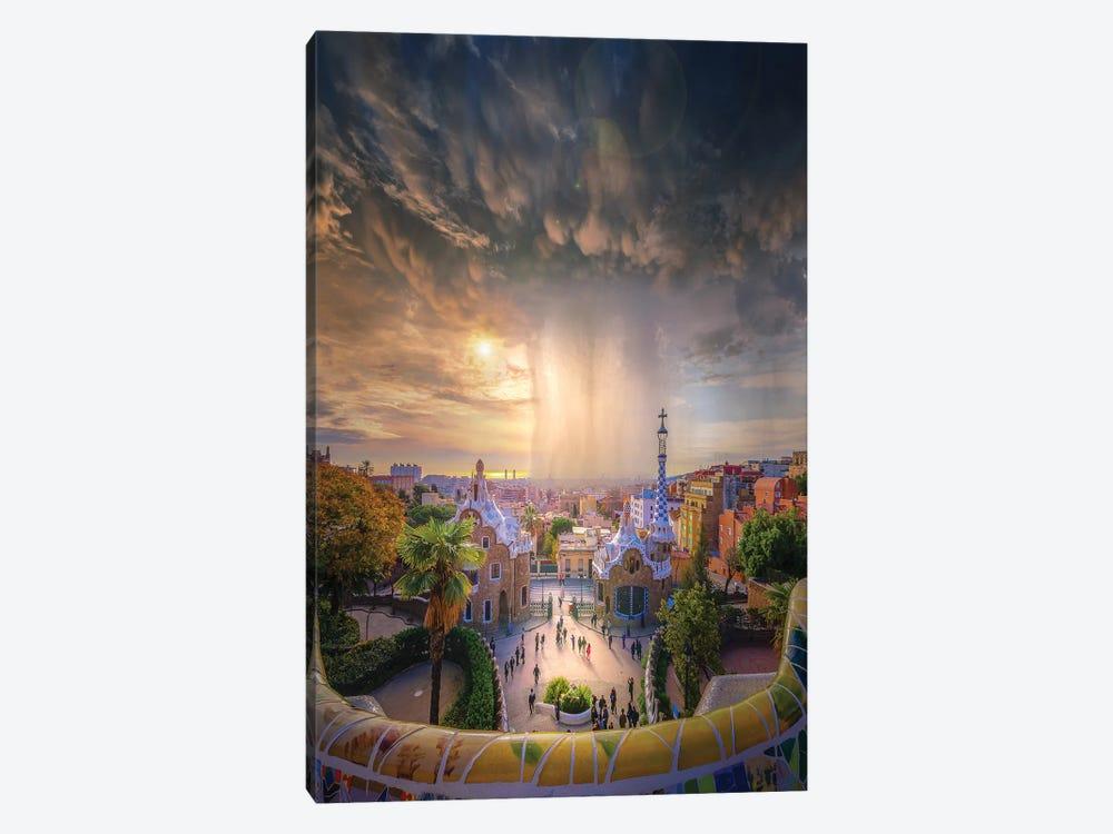 Barcelona Heaven by Brent Shavnore 1-piece Art Print