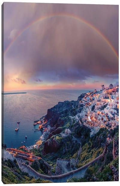 Greece Dreams Canvas Art Print