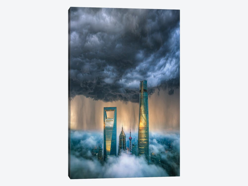 Above The Clouds by Brent Shavnore 1-piece Canvas Print