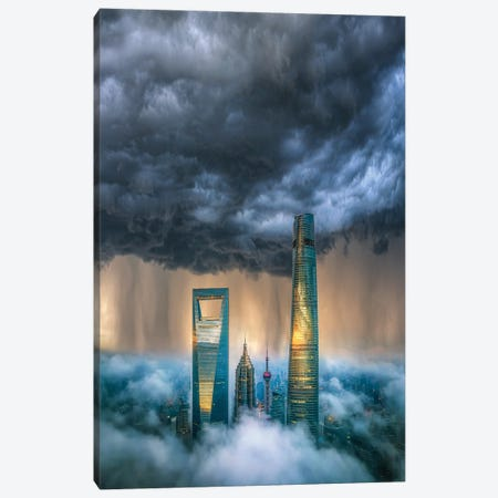 Above The Clouds Canvas Print #BSV40} by Brent Shavnore Canvas Art