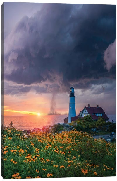 Maine Spring Canvas Art Print