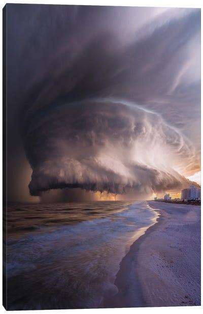 Pensacola Beach Wrath Canvas Art Print