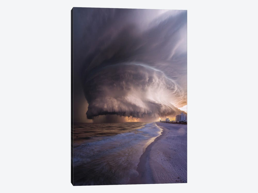 Pensacola Beach Wrath by Brent Shavnore 1-piece Canvas Art Print